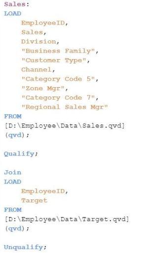 Free Download QSDA2018 Examp Dump: Qlik Sense Data Architect